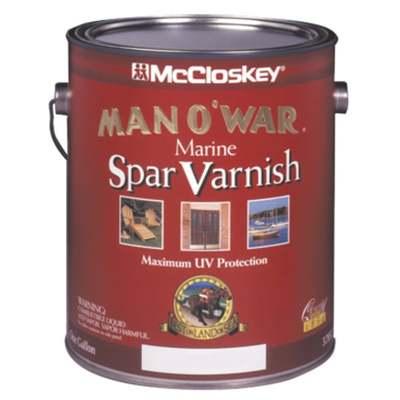 GAL MAN O'WAR SATIN SPAR MARINE VARNISH (Price includes PaintCare Recycle Fee)