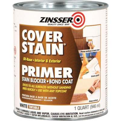 QT ZINSSER COVER-STAIN (Price includes PaintCare Recycle Fee)