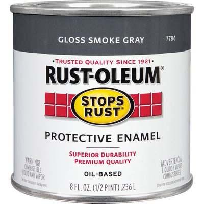 1/2 PT GLOSS SMOKE GRAY OIL