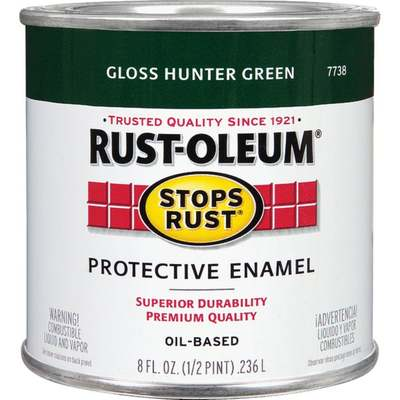 RUST-OLEUM HTR GREEN OIL GLS HP
