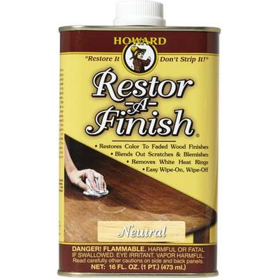 RESTOR-A-FINISH NEUTRAL PT (Price includes PaintCare Recycle Fee)