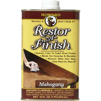 RESTOR-A-FINISH MAHOGANY PT (Price includes PaintCare Recycle Fee)