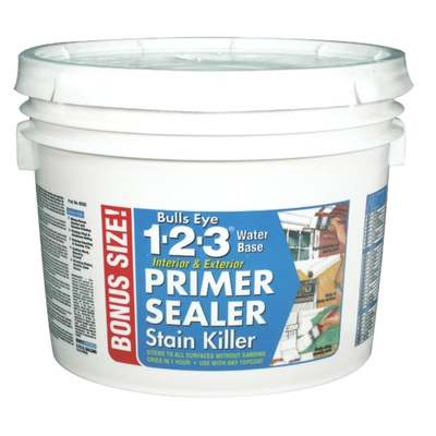 1-2-3 STAINBLK PRIMER 2.5GAL (Price includes PaintCare Recycle Fee)