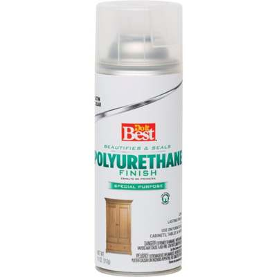 POLYURETHANE SPRAY SATIN CLEAR
