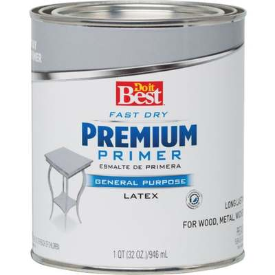 DIB ENAMEL - PRIMER GRAY / QT (Price includes PaintCare Recycle Fee)