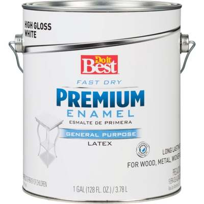 DIB ENAMEL - WHITE GLOSS / GL (Price includes PaintCare Recycle Fee)