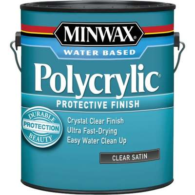 GAL MINWAX POLYCRYLIC SATIN (Price includes PaintCare Recycle Fee)