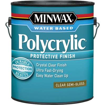 GAL MINWAX POLYCRYLIC S-GLOSS (Price includes PaintCare Recycle Fee)