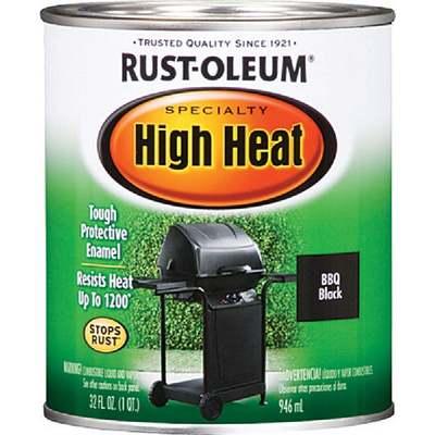 PAINT BLACK BBQ QT HIGH HEAT