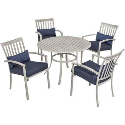 5PC DELRAY DINING SET