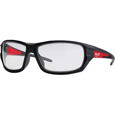 RED/BLK CLR HI PERF SFTY GLASSES