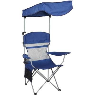 BLUE CANOPY CAMP CHAIR