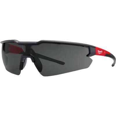 RED/BLACK TINTED SAFETY GLASSES