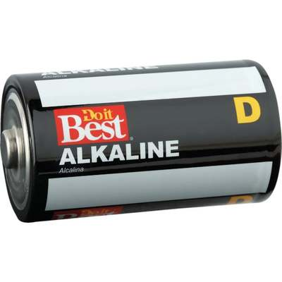 BATTERY - ALKALINE D 4PK