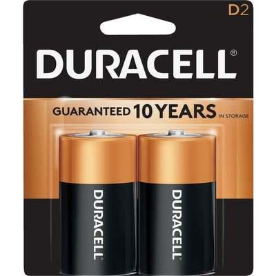 BATTERY - DURACELL D 2PK