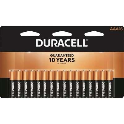 BATTERY - DURACELL AAA16PK