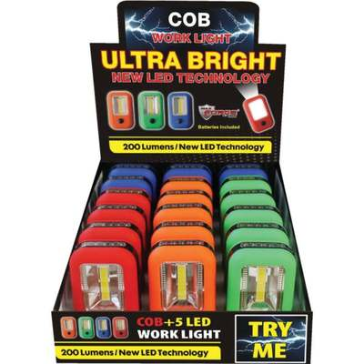 WORKLIGHT LED COB W/HOOK