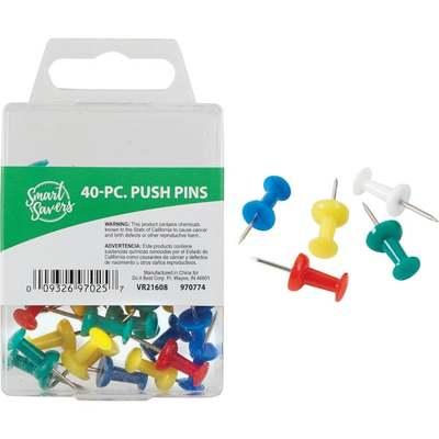 40PC PUSH PINS