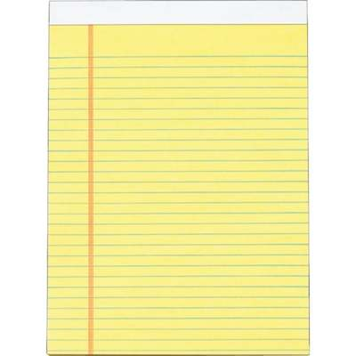 YEL LEGAL LETTER PAD
