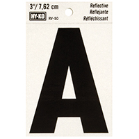 """""""A"""" 3"""" REFLECT LETTER"""