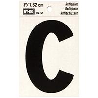 """C' 3"" REFLECT LETTER"