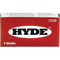 HYDE SINGLE EDGE BLADE 5 PKG