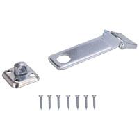 HASP SAFETY ZINC STEEL 4-1/2IN