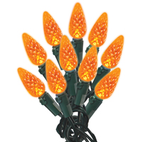 LIGHT C6 LED ORANGE 60CT