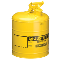 5 GAL YELLOW TYPE 1 SAFETY  CAN
