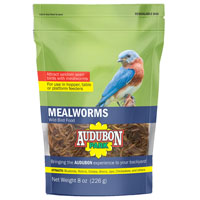 8OZ DRIED MEALWORMS BAG s