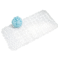 Clear Pebble Bath Mat