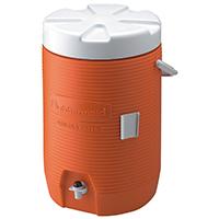 ORANGE WATER COOLER 3 GAL