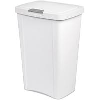 13G White Touchtop Wastebasket