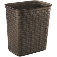 3.4GAL Weave  Wastebasket