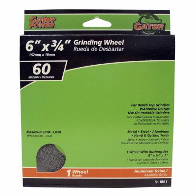 6X3/4 MED GRIND WHEEL          *