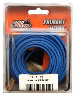 24' BLU 16GA Prim Wire