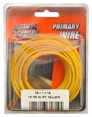 24' YEL 16GA Prim Wire