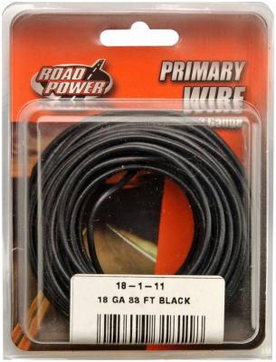 33' BLK 18GA Prim Wire