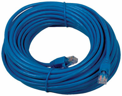 50' BLU Cat5 Cable