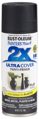 PT2X Flat Black Spray Paint