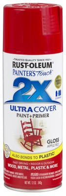 PT2X Apple Red Spray Paint