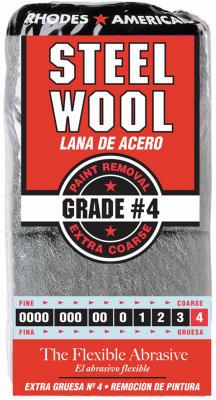 12PK #4 STL Wool Pad