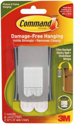 Sticky Nail Wire Hanger