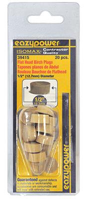 """20Pk 1/2"""" Flt Head Plug"""