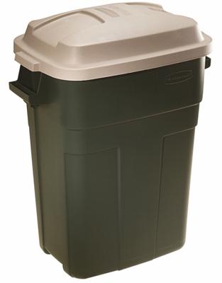 30GAL GRN Trash Can
