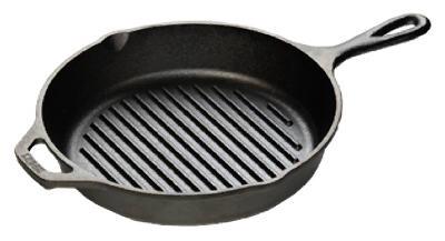 """10-1/4""""Dia CI Grill Pan"""