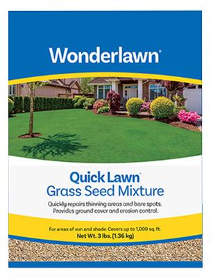 Annual 3LB Fast Start Lawn Seed