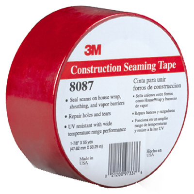 Round's True Value Merchandise - 1-7/8x55yd 3m Red Sheathing