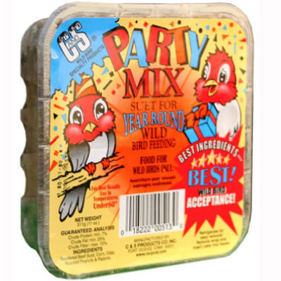 Party Mix Suet Cake