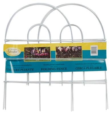 18x8 WHT Arch Fence
